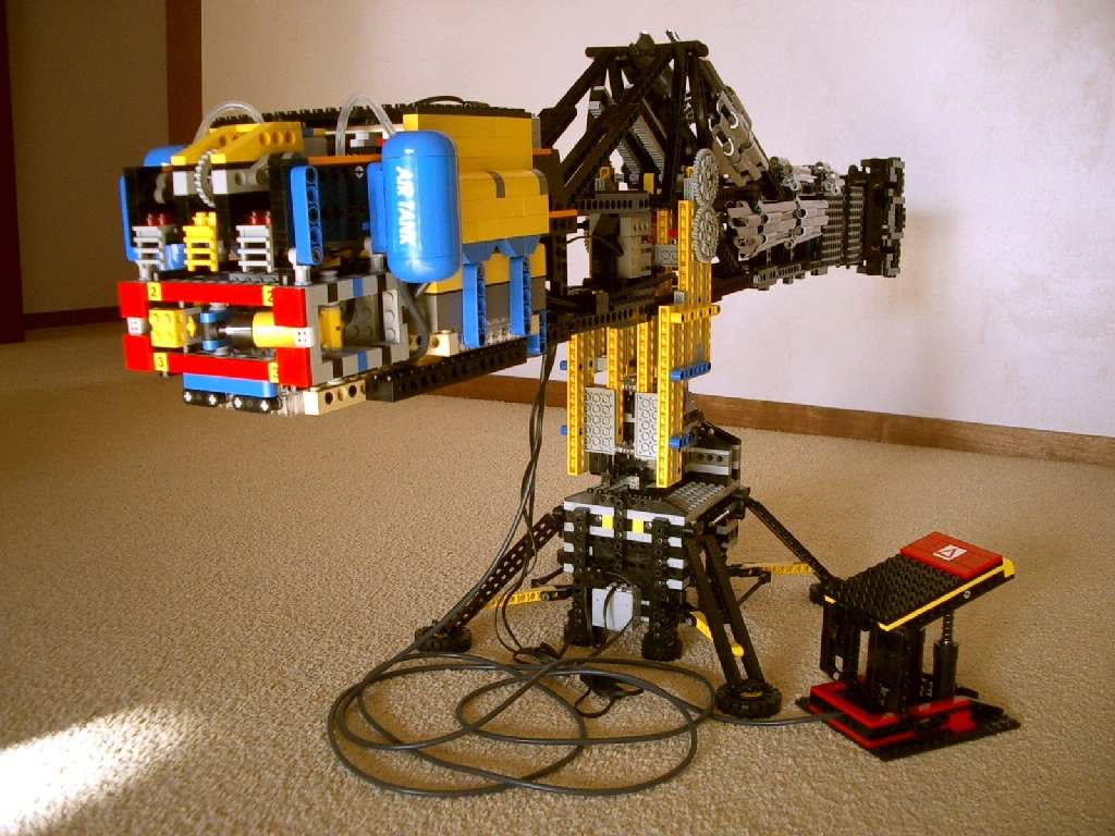 pneumatic hand electric arm lego technic. Black Bedroom Furniture Sets. Home Design Ideas