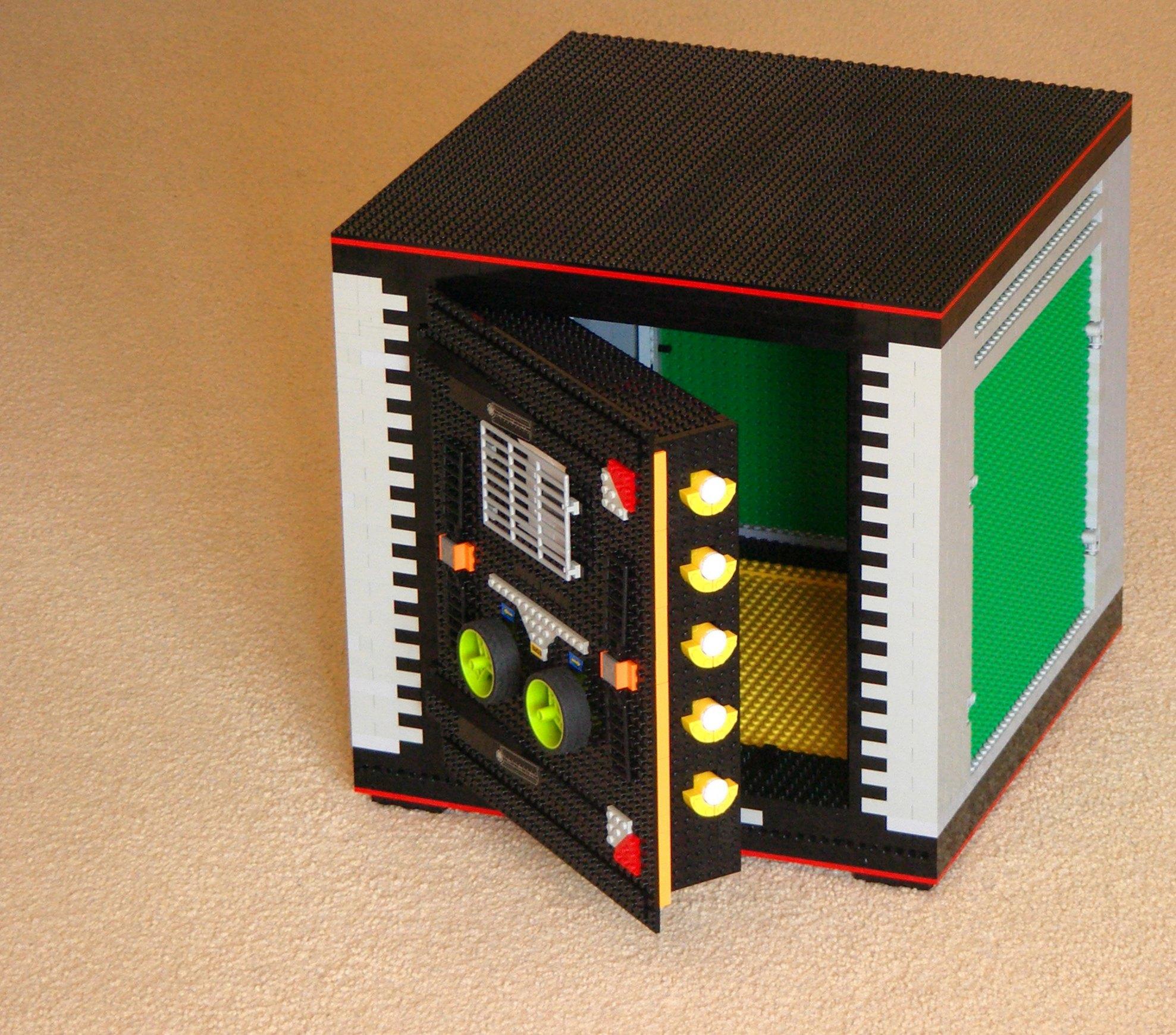 Как сделать сейф из Лего : инструкция для 41