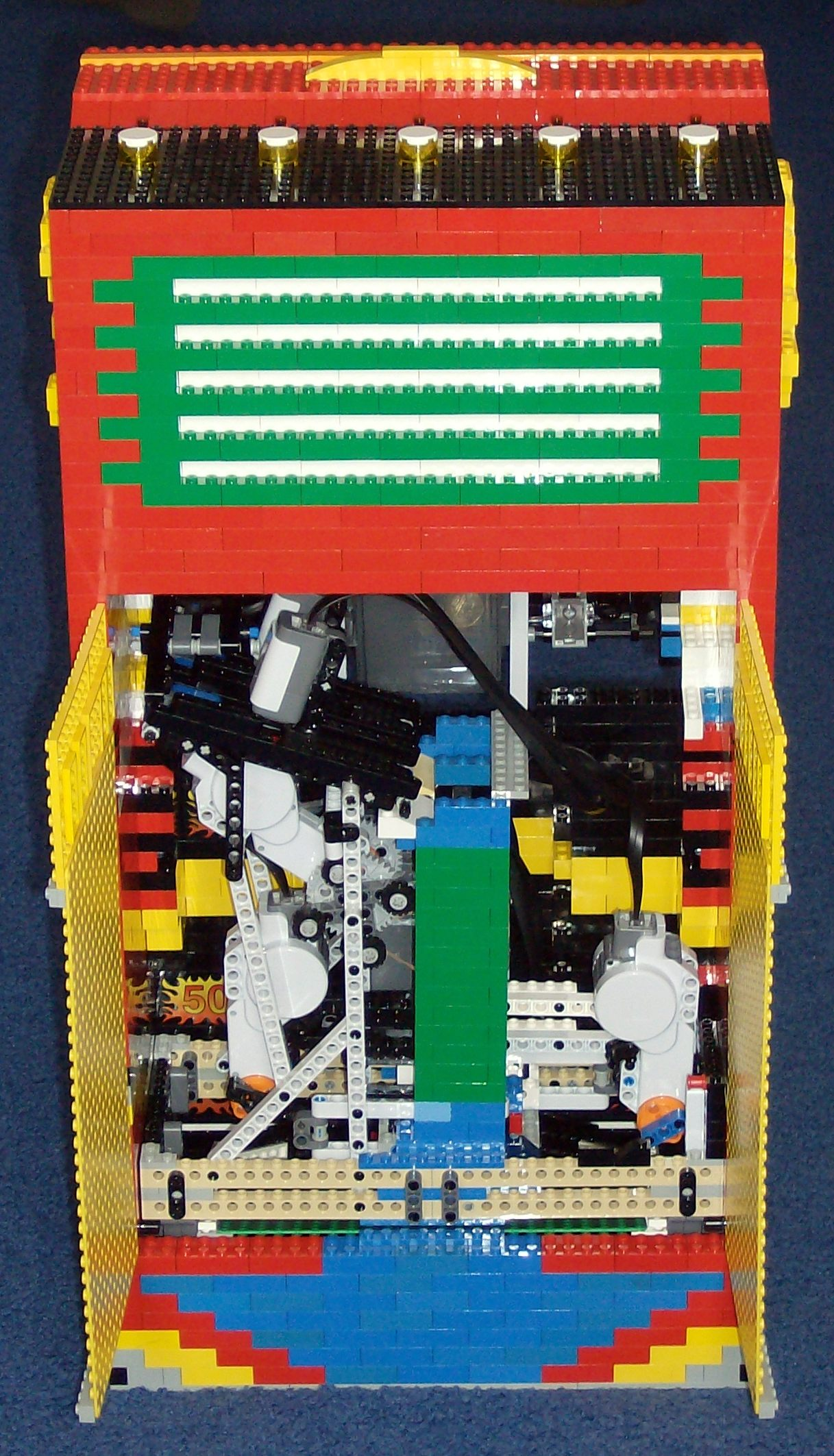 Lego Examples For All Ages Electronic Ear Rcx Module Opened Rear